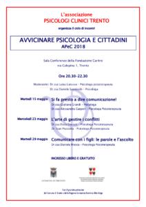 locandina AP&C primavera 2018