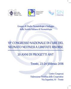 Pieghevole congresso 23-24 febbraio 2018